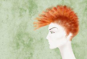 ¿Cómo hacer un Mohawk con el pelo largo