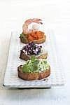 Cómo cocer al horno el pan tostado Rebanadas también conocido como Crostini