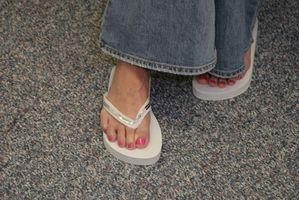 Cuáles son los peligros de goma sandalias?