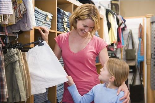 ¿Cómo convencer a mamá a comprar ropa