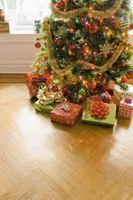 La comida de Navidad del favor y del regalo para los cristianos