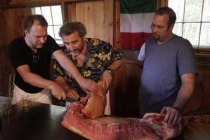 Cómo construir un quemador para un tostador de cerdo