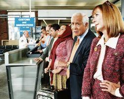 ¿Se puede tomar hacer punto o ganchillo Agujas en un avión?