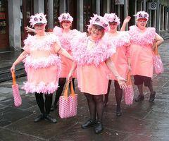 ¿Qué es una señora rosada?