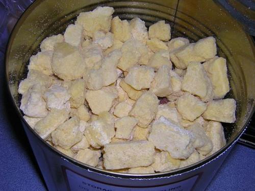 El almacenamiento adecuado de los alimentos Liofilizado