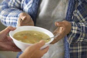 Los productos para espesar la sopa