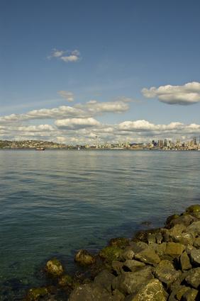 Los monumentos en Seattle