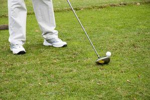 Cómo reparar zapatos de golf serraje