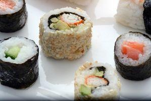 Cómo hacer un regalo Set de sushi
