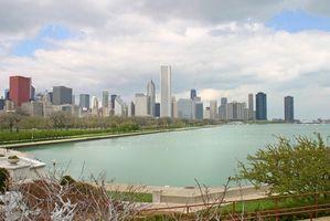 ¿Cuáles son algunas grandes ciudades en Illinois?