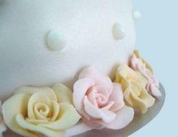 Acerca de las flores pasta de goma