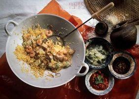 Cómo Hervir el arroz Basmati