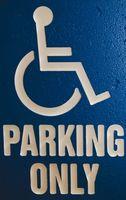 Cómo solicitar una pegatina para personas discapacitadas