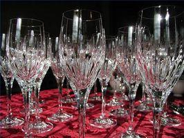 Forma de guardar los vidrios de vino