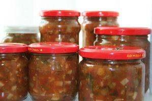 Cómo conservar los alimentos en recipientes de vidrio