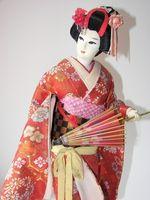 DIY Geisha peinado