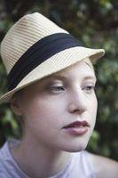 1940 del sombrero de ala