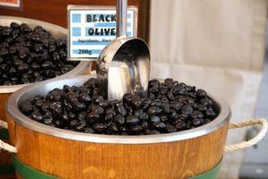Cómo saber si las aceitunas negras son malos