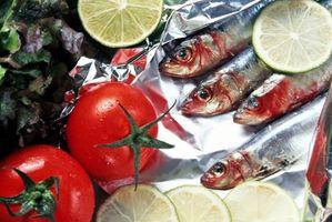 Cómo conservar sardinas frescas