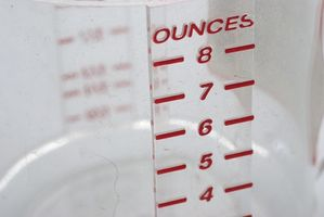 Cómo encontrar y leer las tazas de medición Medidas
