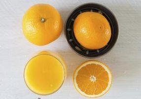Cómo congelar el zumo de naranja recién exprimido