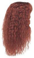 Cómo cambiar la textura del pelo falso