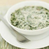 Puede usted sustituye la crepe Mezcla de Harina en Crema de Espinacas?