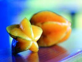 Tipos de frutas tropicales inusuales