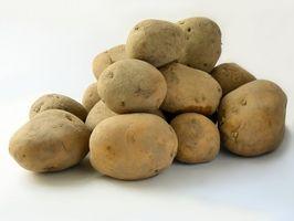 Forma de guardar las patatas crudas