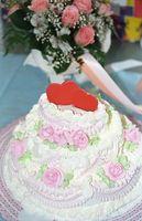 Ideas tarta de boda de rubí