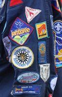 Fácil manera de unir Boy Scout Parches