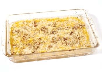 Cómo hacer de Calabaza con queso y nueces