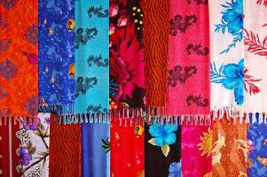 Cómo coser un pañuelo de seda