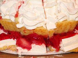 Cómo hacer Strawberry Shortcake de Topping