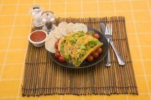 Ingredientes para una mezcla de condimentos Taco hecho en casa
