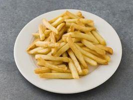 Cómo hacer patatas fritas al horno