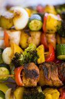 Asar a la parrilla y asar verduras