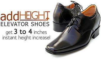 Cómo parecer más alto con ascensor zapatos para hombre