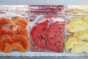 Cómo comer fruta congelada