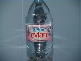 Cuál es el origen del agua de Evian?