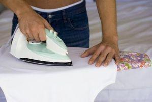 Cómo desarrugar una tela de seda