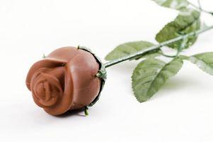 Cómo hacer flores con cuero, chocolate