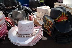 Cómo limpiar los sombreros de fieltro vaquero