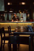 Una zona de bares y restaurantes en Rockville, Maryland