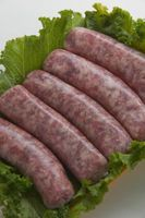 Cómo cocinar salchichas de cerdo sin Bratwurst