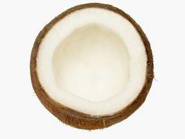 El masaje es el aceite de coco en la piel antes de la limpieza saludable?