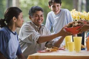 Ideas de cena de la familia