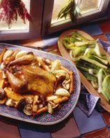 Cómo asar pollo directamente sobre la parrilla del horno