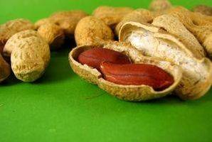 Receta china cacahuetes hervidos