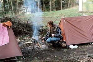 Cómo limpiar acampan Ollas y cacerolas